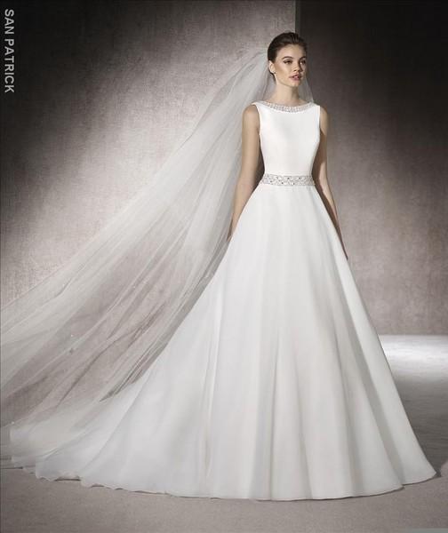 melba | novia | san patrick | vainise bodas - vestidos de novia