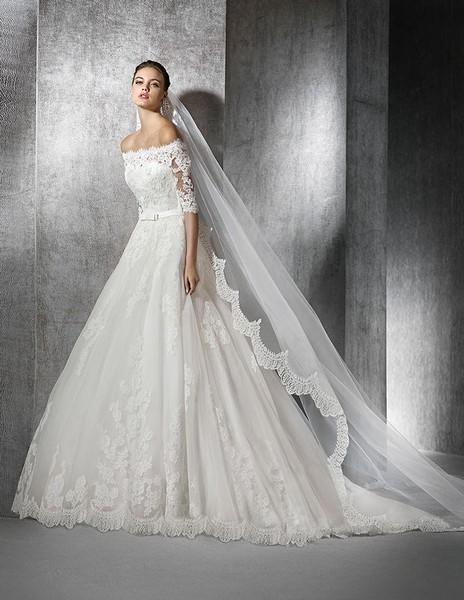 novia | zureda | san patrick | vainise bodas | madrid - vestidos de