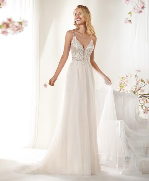 novia | coab19221 | nicole | vainise bodas | madrid - v&b | vestidos