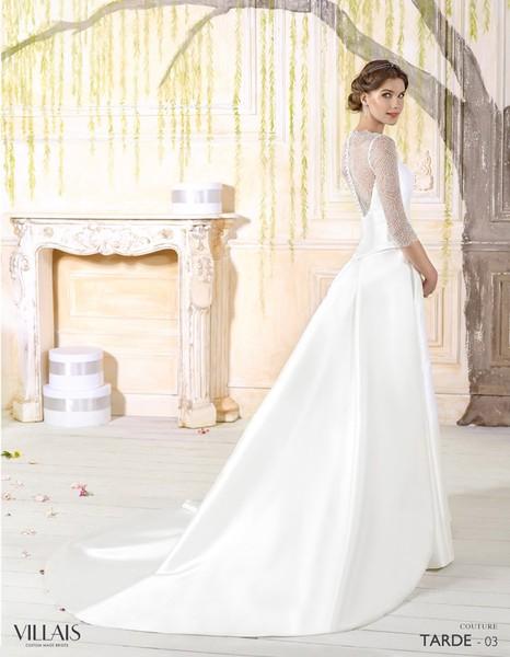 Vestido de novia boda de tarde